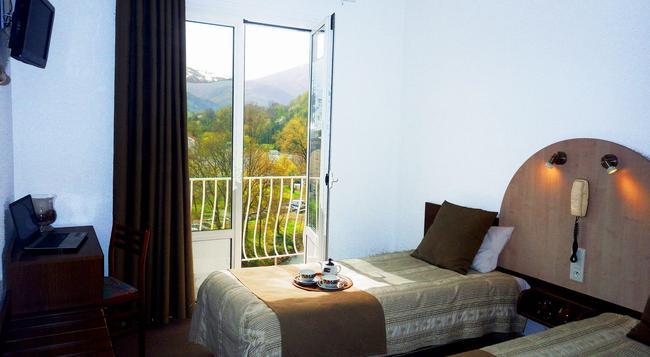 Hotel Notre Dame De La Sarte - ルルド - 寝室