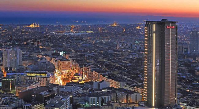 イスタンブール マリオット ホテル シシュリ - イスタンブール - 建物