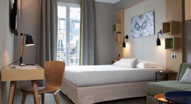シュエット ホテル - パリ - 寝室