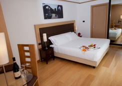 パーク ホテル ジネヴラ - ローマ - 寝室