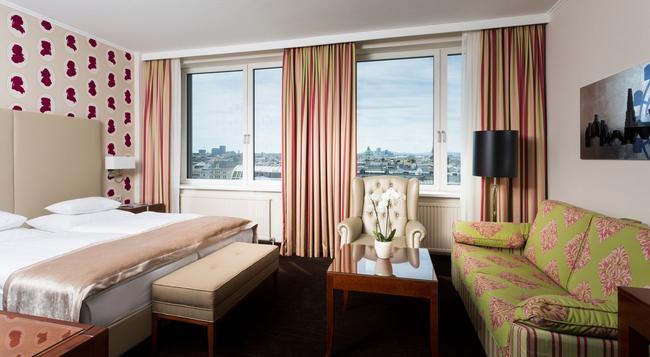 ホテル アム パークリング - ウィーン - 寝室