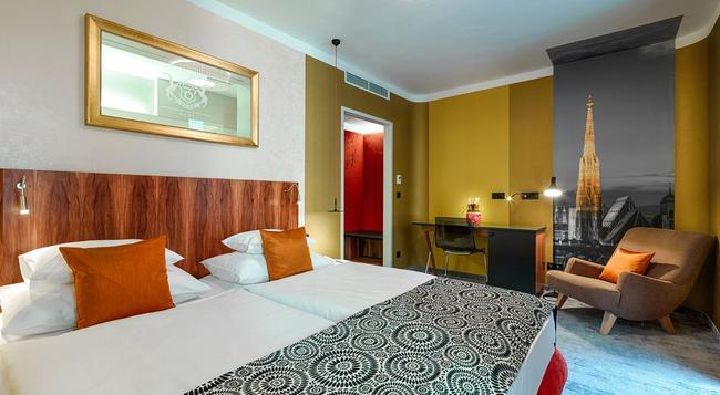 ホテル カプリコルノ - ウィーン - 寝室