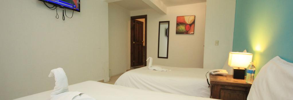 Hotel Jardines de Luz - San Cristóbal de las Casas - 寝室