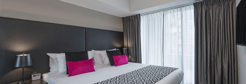マントラ サウスバンク - メルボルン - 寝室