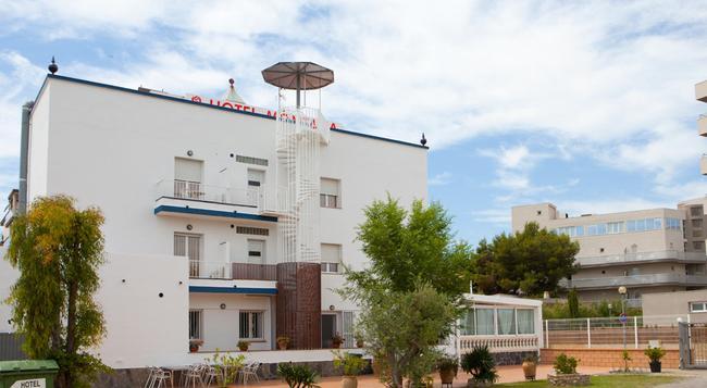 Hotel Montana - ロザス - 建物