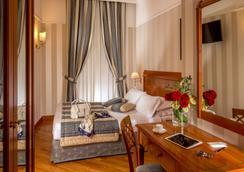 アルベルゴ オットチェント - ローマ - 寝室