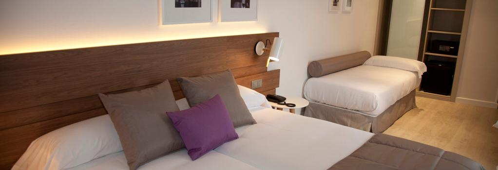 ホテル ヘルミレス - サンティアゴ・デ・コンポステーラ - 寝室