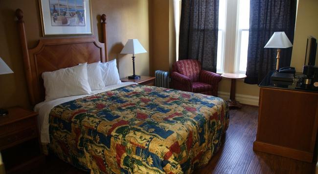 エールホテル - サンフランシスコ - 寝室