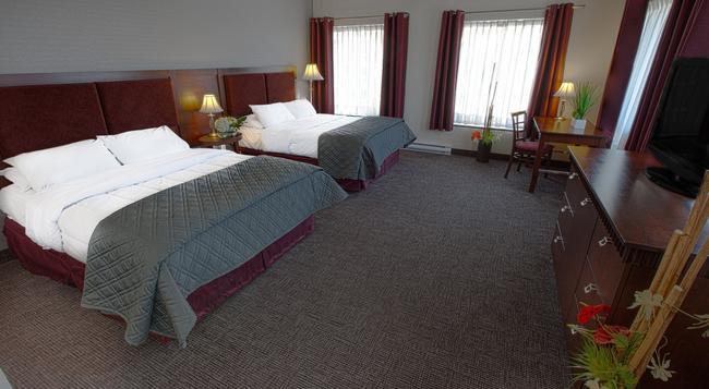 ホテル ウニヴェルセル - ケベック・シティ - 寝室