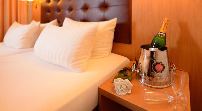 Hotel Sachsentor - ハンブルク - 寝室