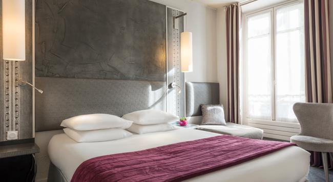 ホテル ドゥ フランス アンヴァリッド - パリ - 寝室