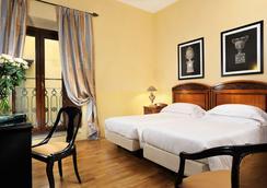 グランド ホテル カヴォール - フィレンツェ - 寝室