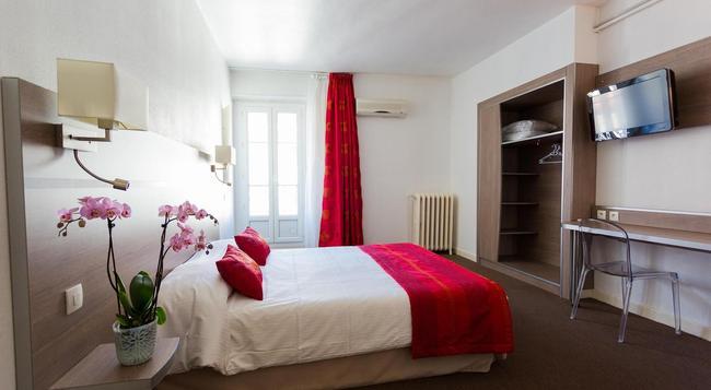 オテル ドゥ ヨーロッパ グルノーブル ハイパーセンター - グルノーブル - 寝室