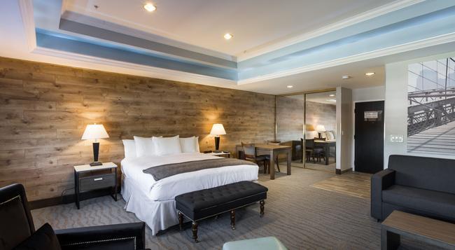 ザ ロウ ホテル - サンノゼ - 寝室