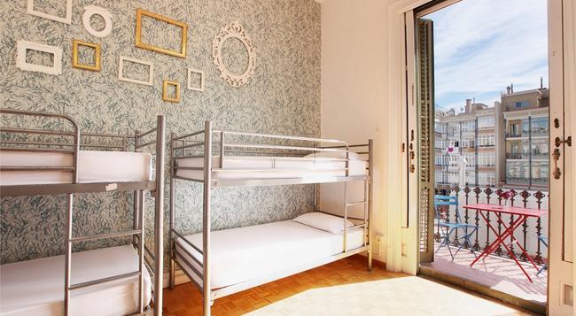 The Hipstel - バルセロナ - 寝室