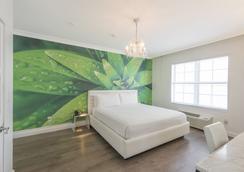 プレジデント ホテル - マイアミ・ビーチ - 寝室