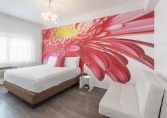 ペンギン ホテル - マイアミ・ビーチ - 寝室