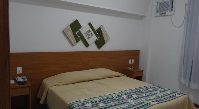 ホテル プライア リンダ - リオデジャネイロ - 寝室