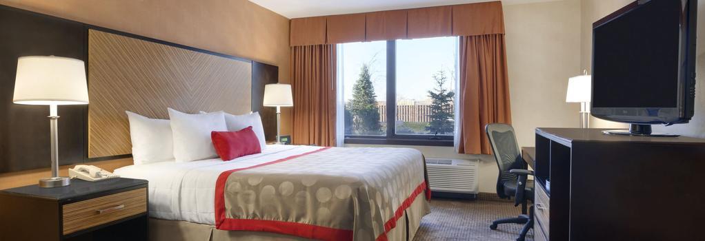 ラマダ プラザ ホテル ニューアーク エアポート - ニューアーク - 寝室