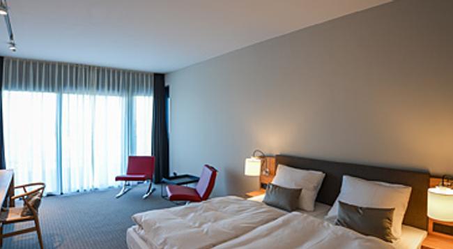 Rainvilles Elbterrassen - ハンブルク - 寝室