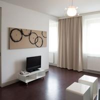 スタニス ホテル & アパートメンツ Living Area