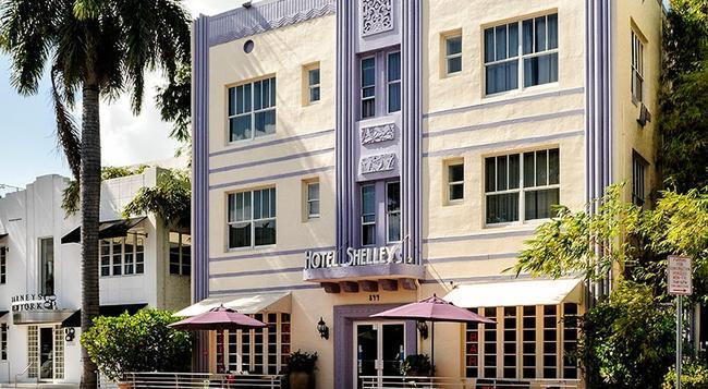 シェリー ホテル - マイアミ・ビーチ - 建物