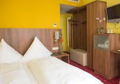 ホテル シュリッカー - ミュンヘン - 寝室