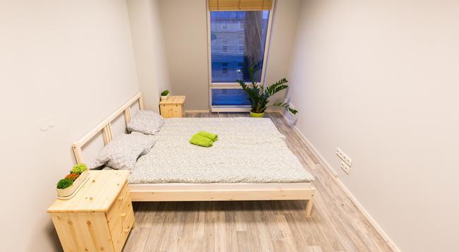 Fabrika Hostel - Vozduh Group - ビリニュス - 寝室