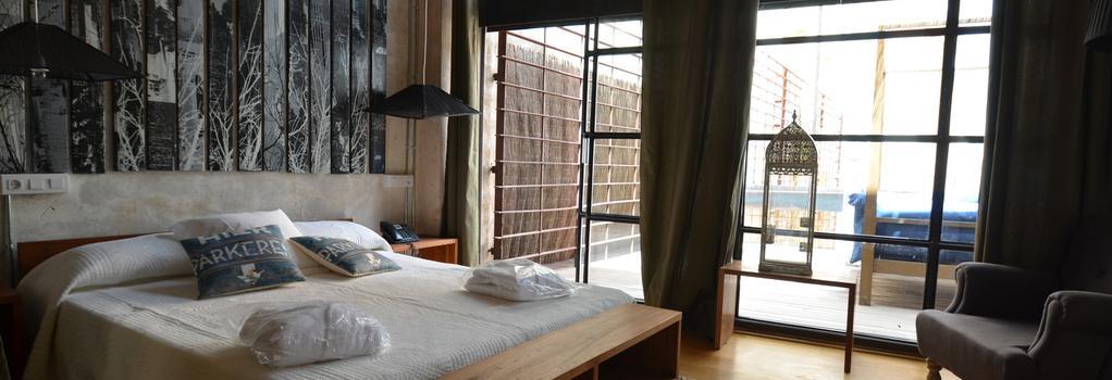 ブロンド アーキテクト ホテル - パルマ・デ・マヨルカ - 寝室