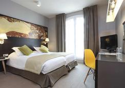 リトル パレス ホテル - パリ - 寝室