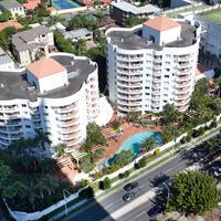 アルファ ソブリン ホテル Australis Sovereign Hotel Aerial View
