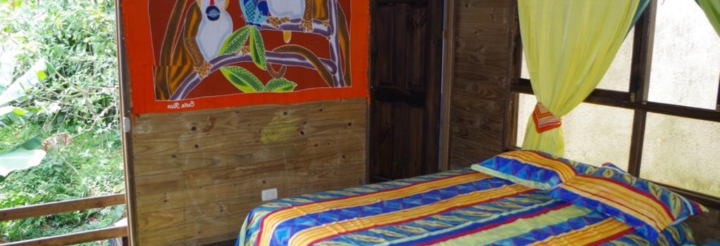 Hostel Arenal La Fortuna - フォルトゥナ - 寝室