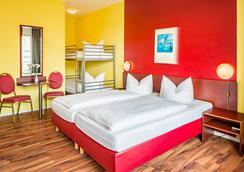 アレクサ ホテル アム オリンピアスタディオン - ベルリン - 寝室