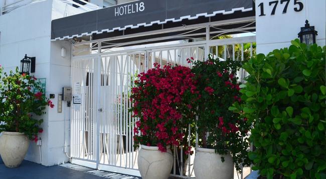 ホテル 18 - マイアミ・ビーチ - 建物