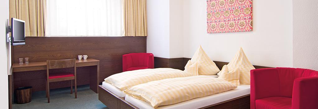 バロックホテル アム ドム ガルニ - バンベルク - 寝室