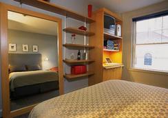 チャールズマーク ホテル - ボストン - 寝室