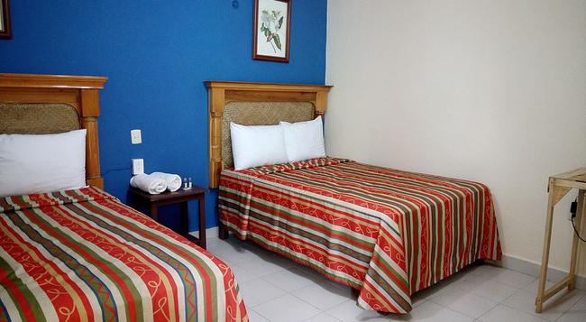La Alegria Hotel - プラヤ・デル・カルメン - 寝室