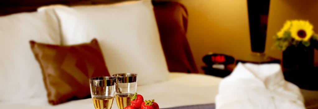 Nichols Village Hotel and Spa - スクラントン - 寝室
