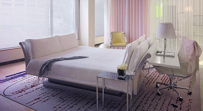 サンダーソン, ア モーガンズ ホテル - ロンドン - 寝室