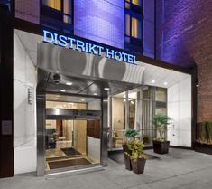 ディストリクト ホテル ニューヨークシティ タイムズ スクエア