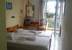Karis Hotel - コス島 - 寝室