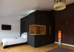 Das Lindenberg - フランクフルト - 寝室