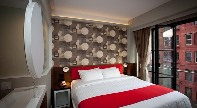 ノーブルDEN ホテル - ニューヨーク - 寝室