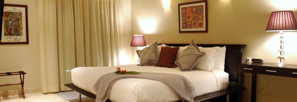 El Taj Oceanfront And Beachside Condo Hotel - プラヤ・デル・カルメン - 寝室