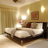 El Taj Oceanfront & Beachside Condo Hotel Master bedroom (example)