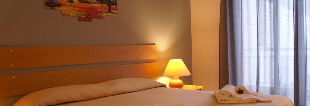 Hotel Rasula Alta - カターニア - 寝室