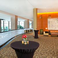 The Westin Buckhead Atlanta Mezzanine set for cocktail function