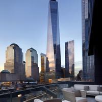 コートヤード バイ マリオット ニューヨーク ダウンタウン マンハッタン/ワールド トレード センター エリア Terrace/Patio