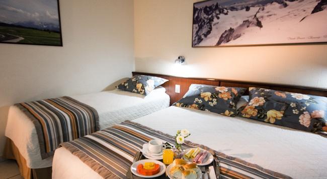 アグアス ド イグアス ホテル セントロ - フォス・ド・イグアス - 寝室