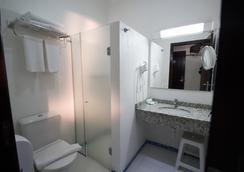 アグアス ド イグアス ホテル セントロ - フォス・ド・イグアス - 浴室